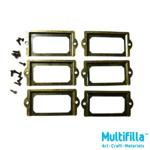 multifilla-antique-name-tag-holder-6pcs-with-screws-88103246-group