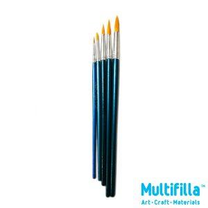 multifilla-br880-x-art-round-nylon-brush-set-of-5-pieces-top-logo