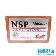 multifilla-chavant-medium-sulfur-free-plastiline-2lbs-front-logo
