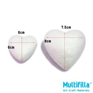 multifilla-foam-heart