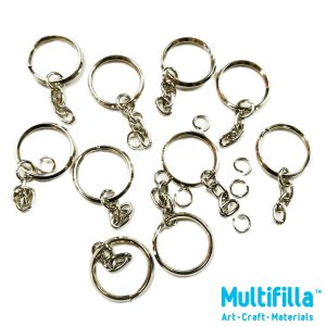 multifilla-k-25-25mm-key-ring-with-chain-o-ring-10pcs