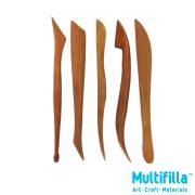 multifilla-wooden-clay-sculpting-set-5pcs