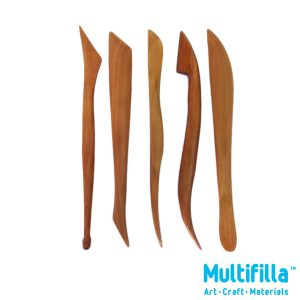multifilla-wooden-clay-sculpting-set-5pcs